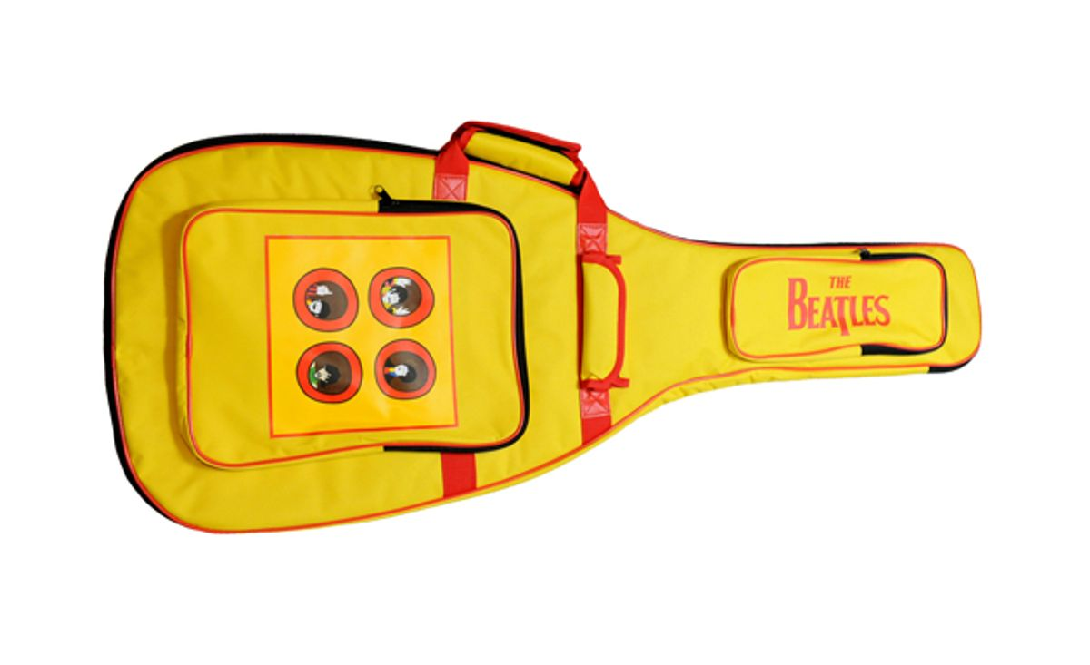 Perri's Leathers Launches Beatles Guitar Straps, Gig Bags, and Picks