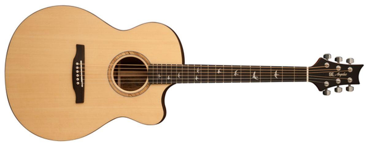 PRS Guitars Introduces the SE Alex Lifeson Thinline Acoustic