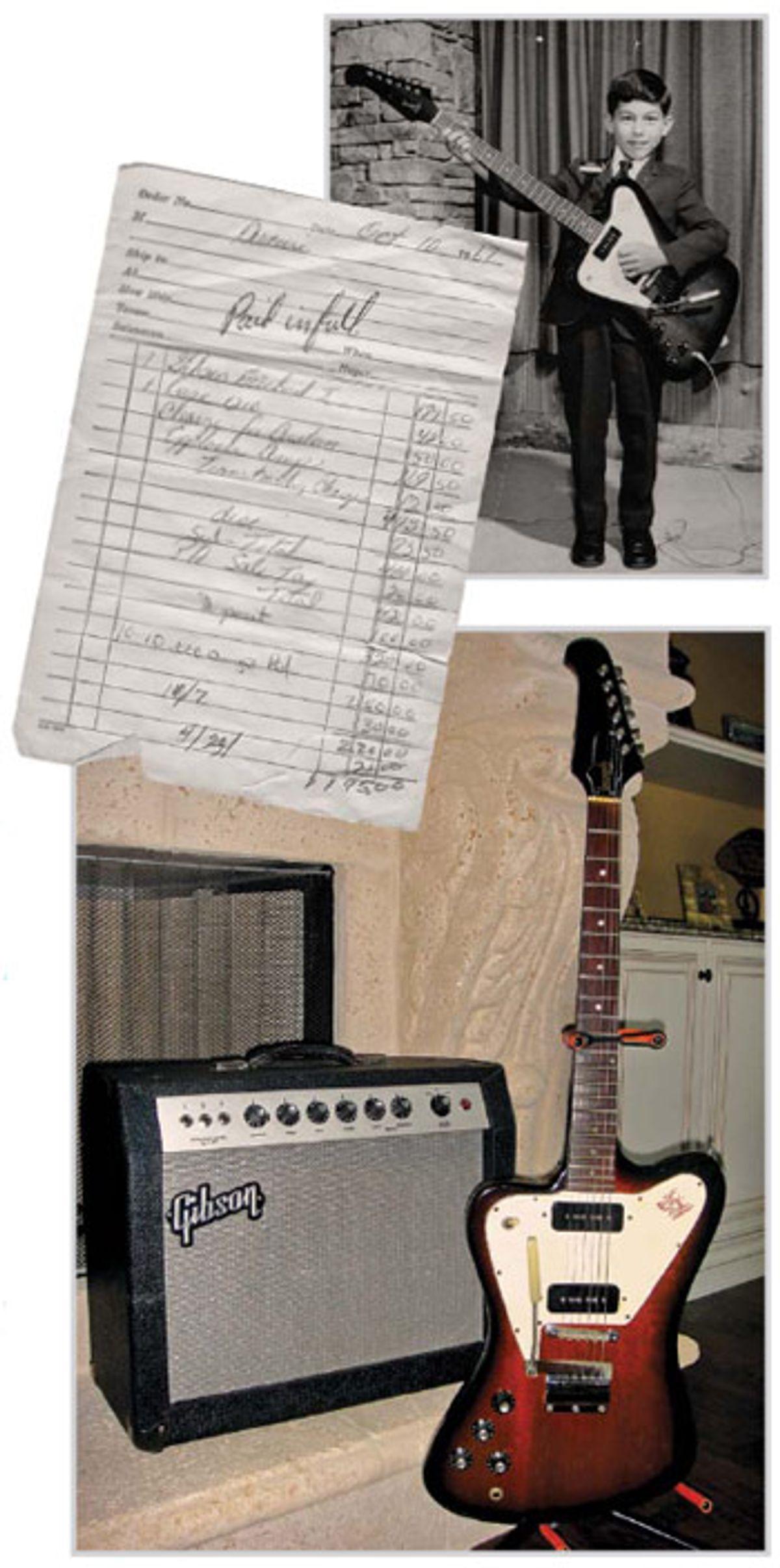1968 Gibson Reverse Series Firebird I and GA-15RVT Explorer Amp
