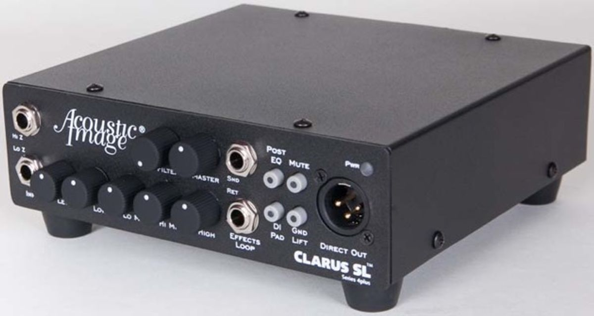 Acoustic Image Introduces Clarus SL and SL-R Models