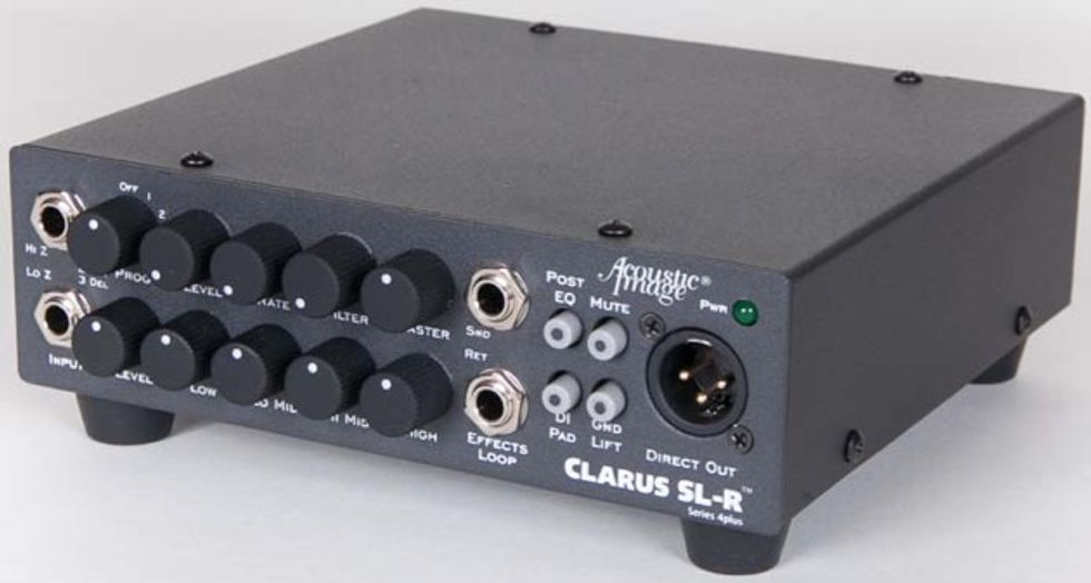 Você compraria um amp Classe D de novo? - Página 7 Jul15_LNU_AcousticImage_ClarusSLR_WEB