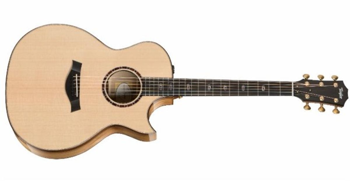 Taylor Guitars Introduces Limited Edition Grand Auditorium Models