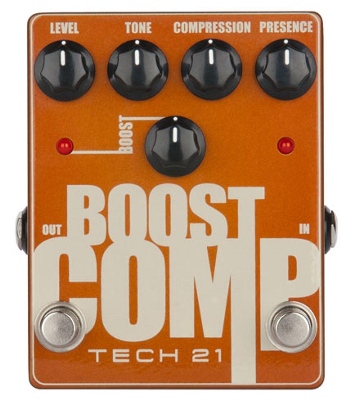 Tech 21 Announces the Boost Comp