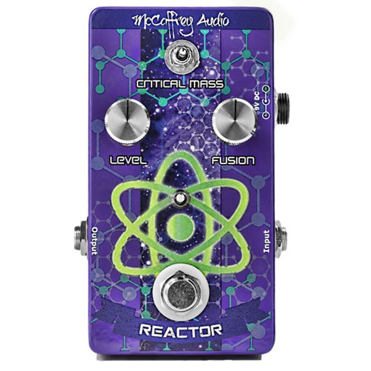 McCaffrey Audio Unveils the Reactor Boost Compressor