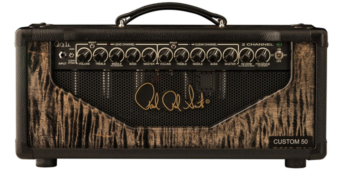 PRS Custom Amp Designs Introduces the 2-Channel Custom Amplifier