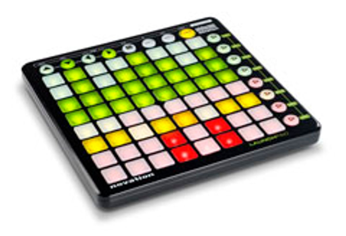 Novation Releases Abelton Live Controller Launchpad