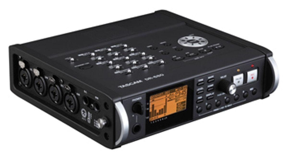 Tascam Announces DR-680 8-Track Portable Recorder