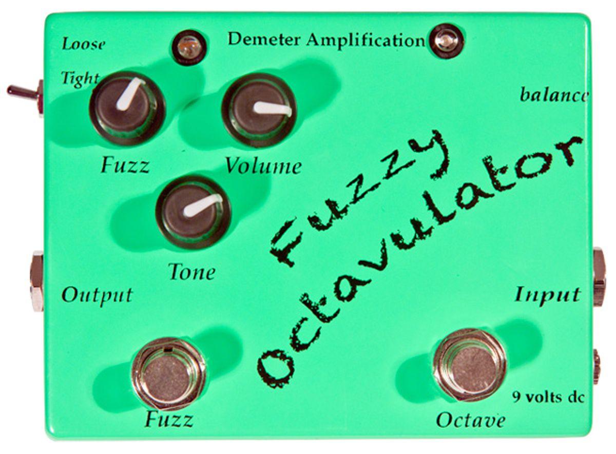 Demeter Amplification Fuzzy Octavulator Pedal Review