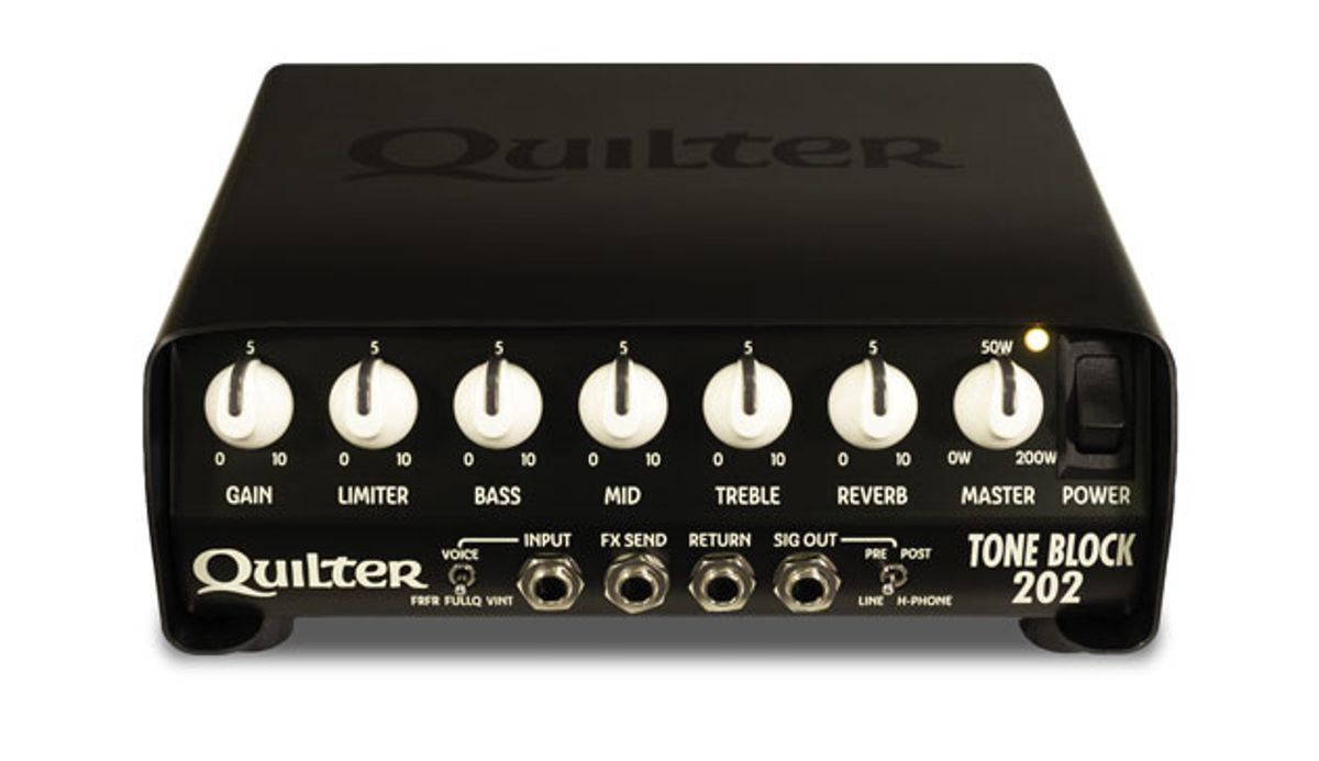 Quilter Labs Announces the Tone Block 202