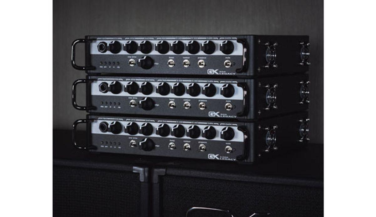 Gallien-Krueger Introduces Legacy Series Bass Heads