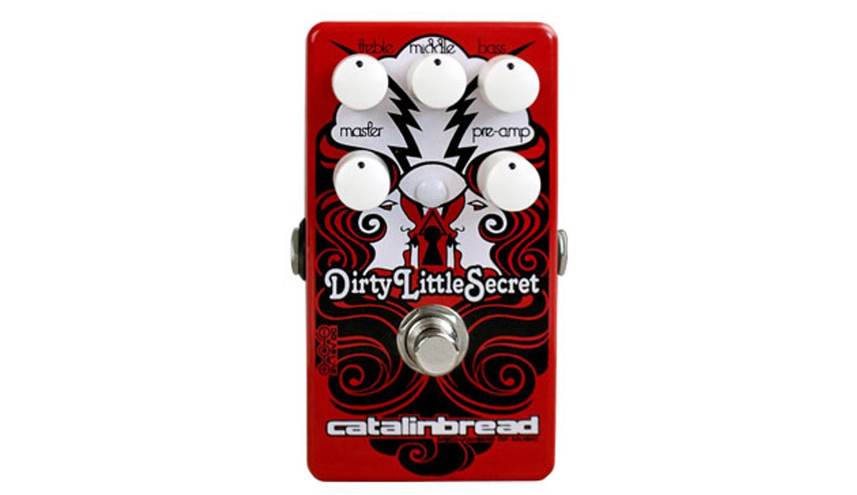 Catalinbread Effects Releases Limited-Edition Dirty Little Secret Red Mod