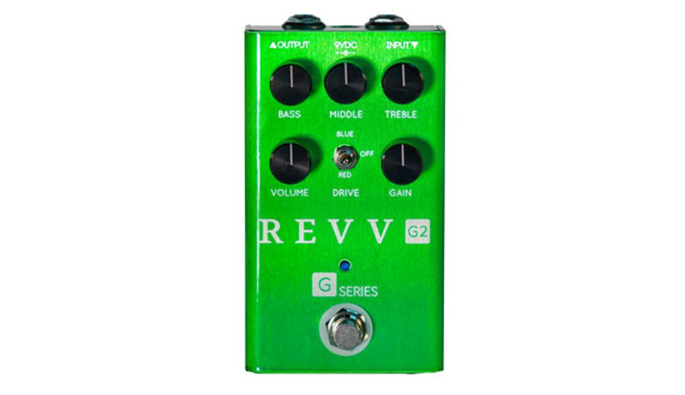 Revv Amplification Unveils the G2 Overdrive