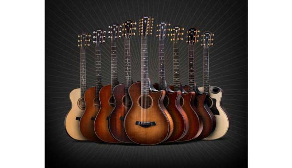 Taylor Guitars 2020 Winter Namm New Model Lineup Premier Guitar