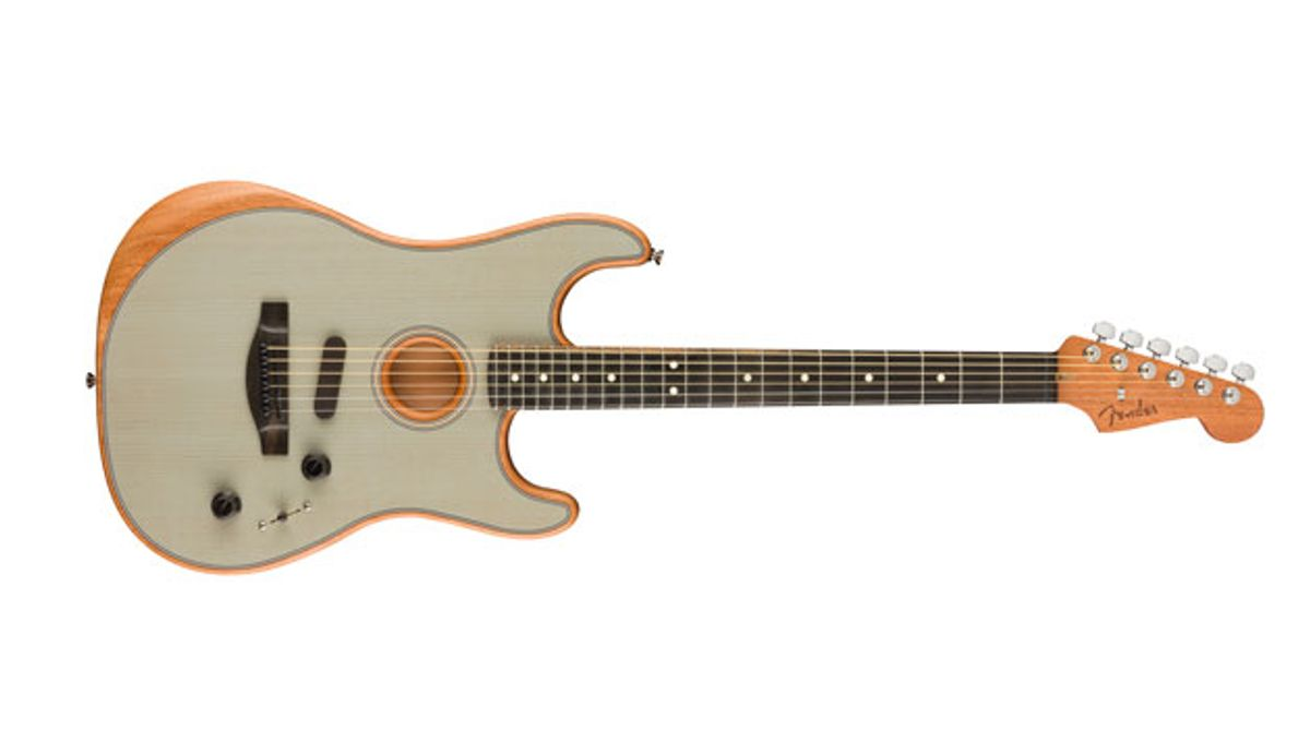 Fender Extends American Acoustasonic Series with Stratocaster Model