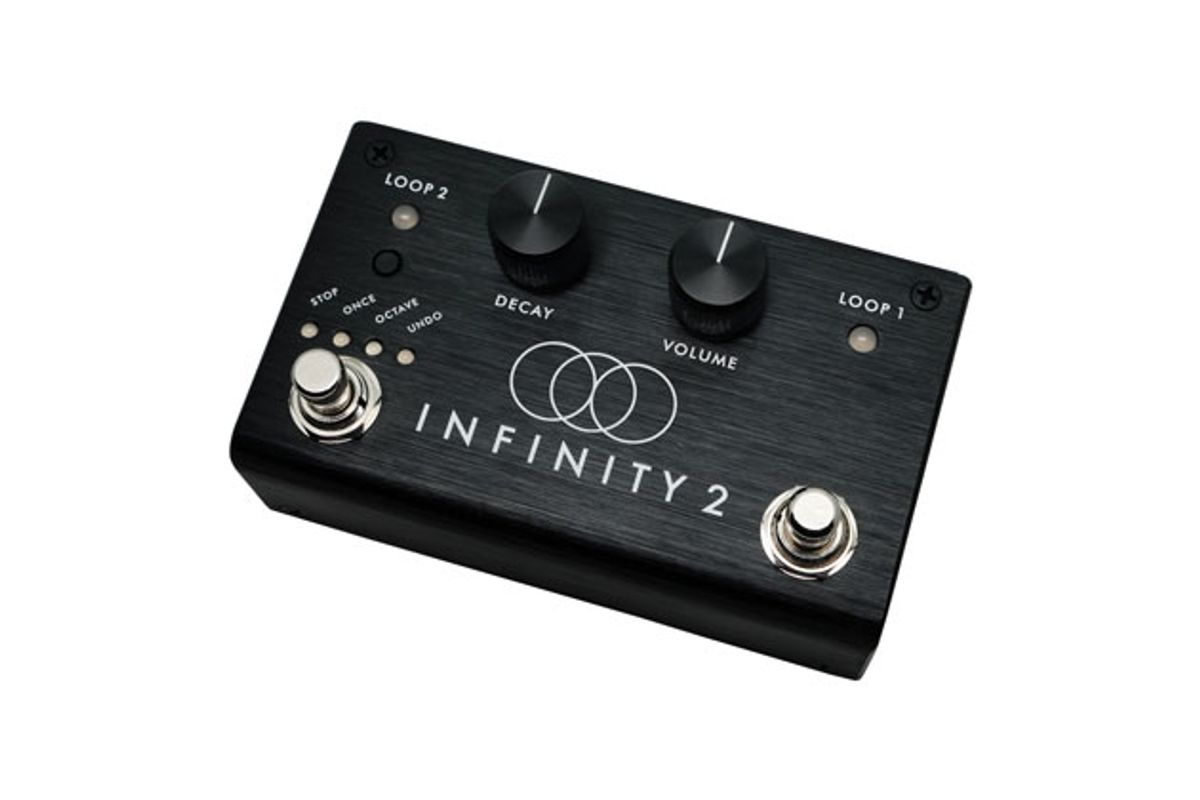 Pigtronix Announces the Infinity 2 Stereo Looper Pedal