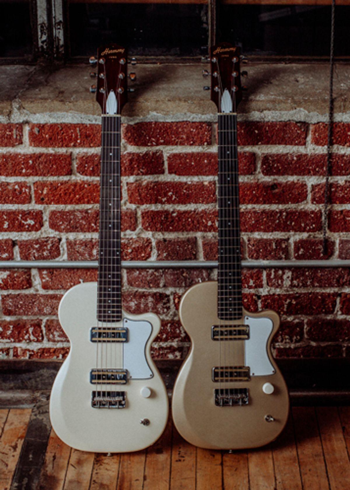 Harmony Guitars Launches the Juno
