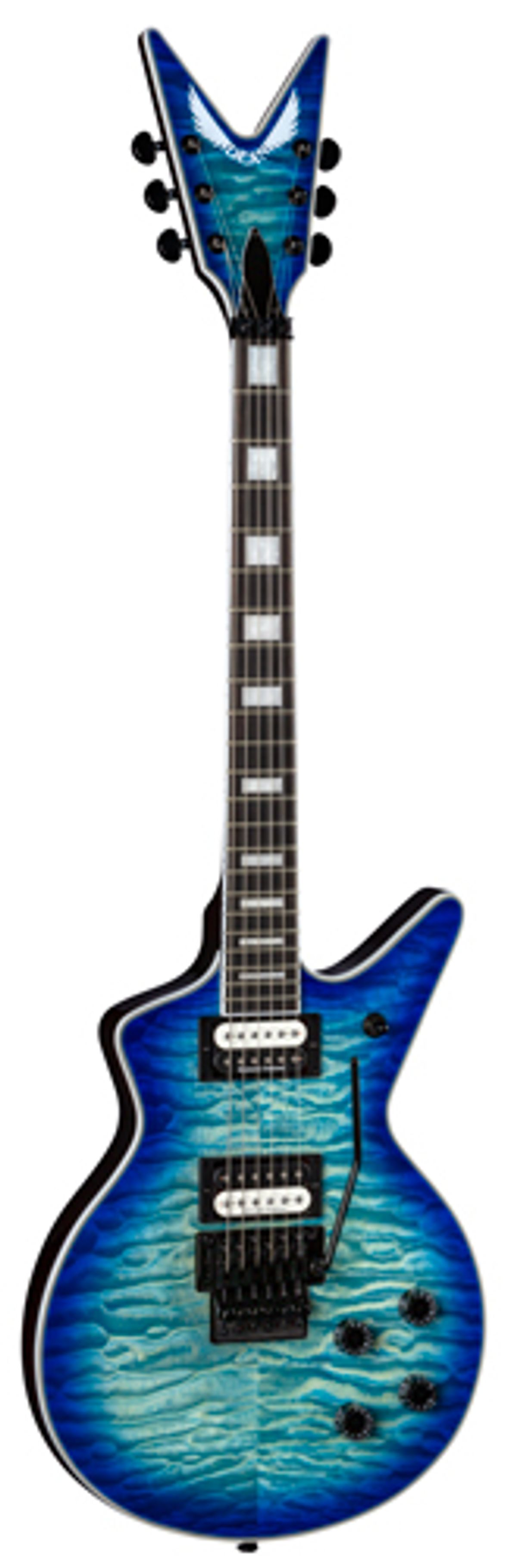Dean Guitars Expands Select Series with Cadi Select Quilt Top Floyd Ocean Burst