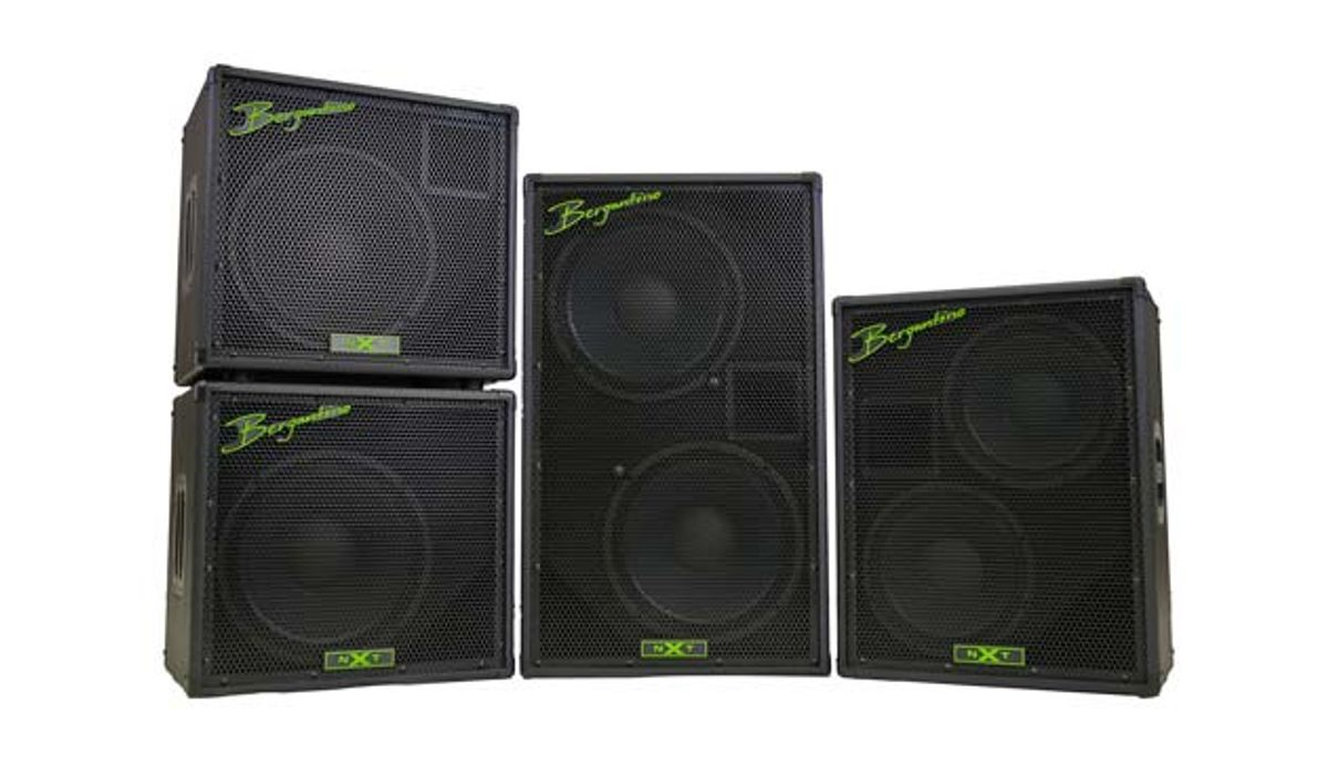 Bergantino Audio Launches the NXT Series of Bass Cabinets