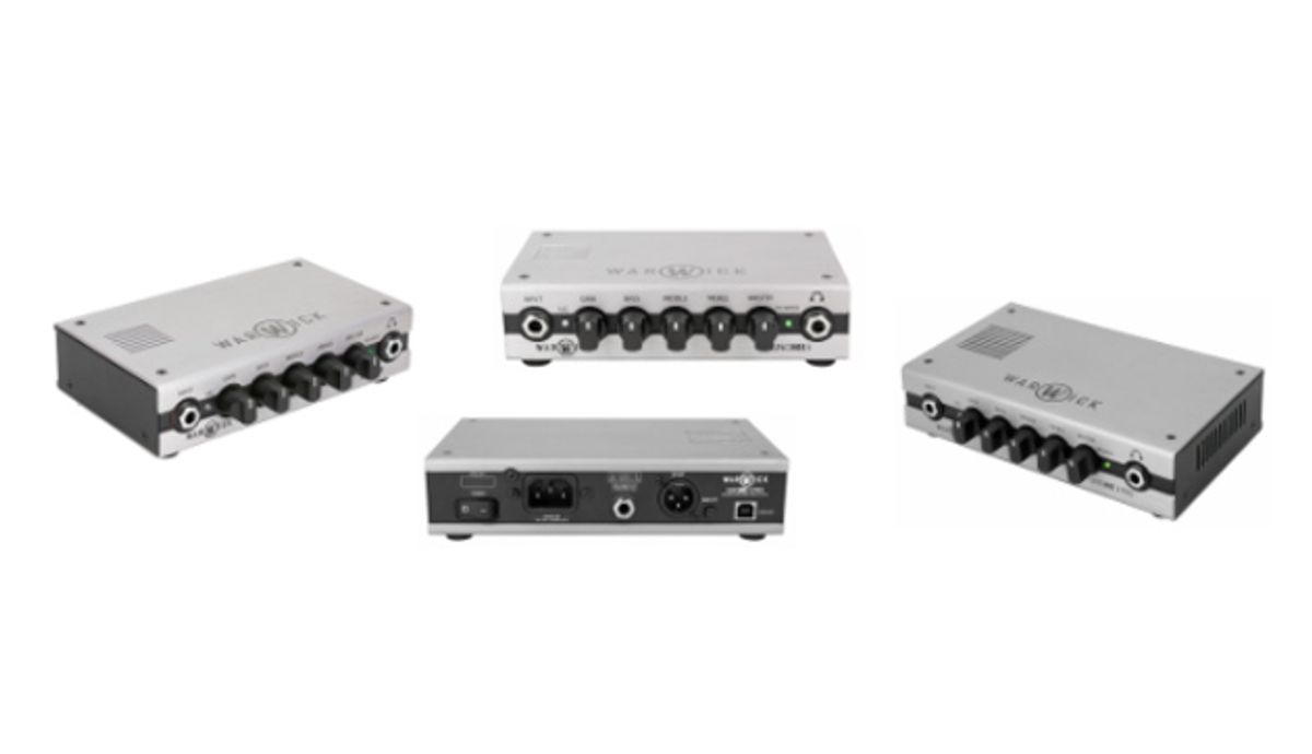 Warwick Unveils Lineup of Gnome Pro Pocket Bass Amp Heads