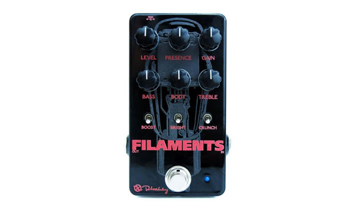 Keeley Electronics Releases the Filaments Distortion