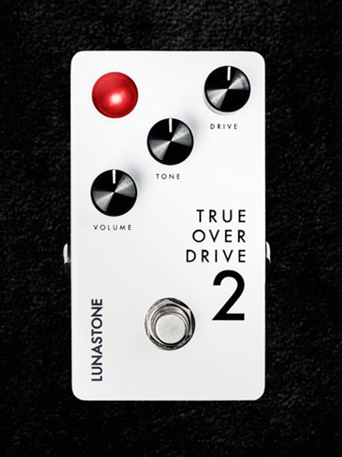 LunaStone Pedals Releases the TrueOverDrive 2
