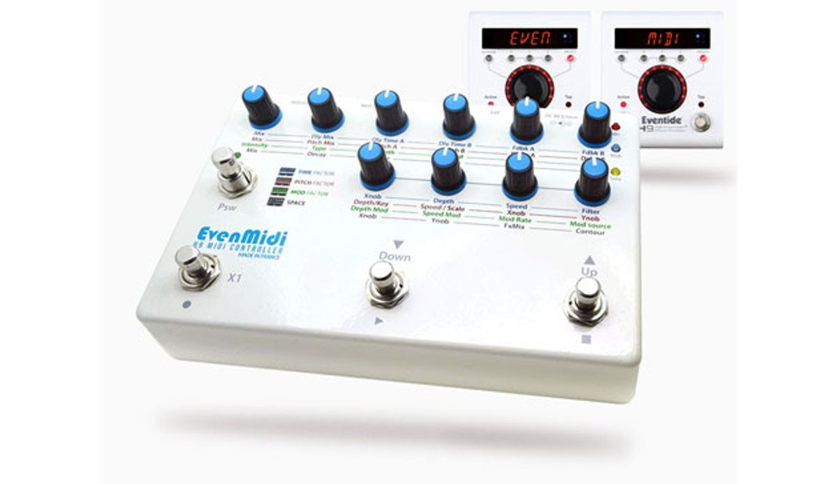 EvenMidi Releases the H9 MIDI Controller