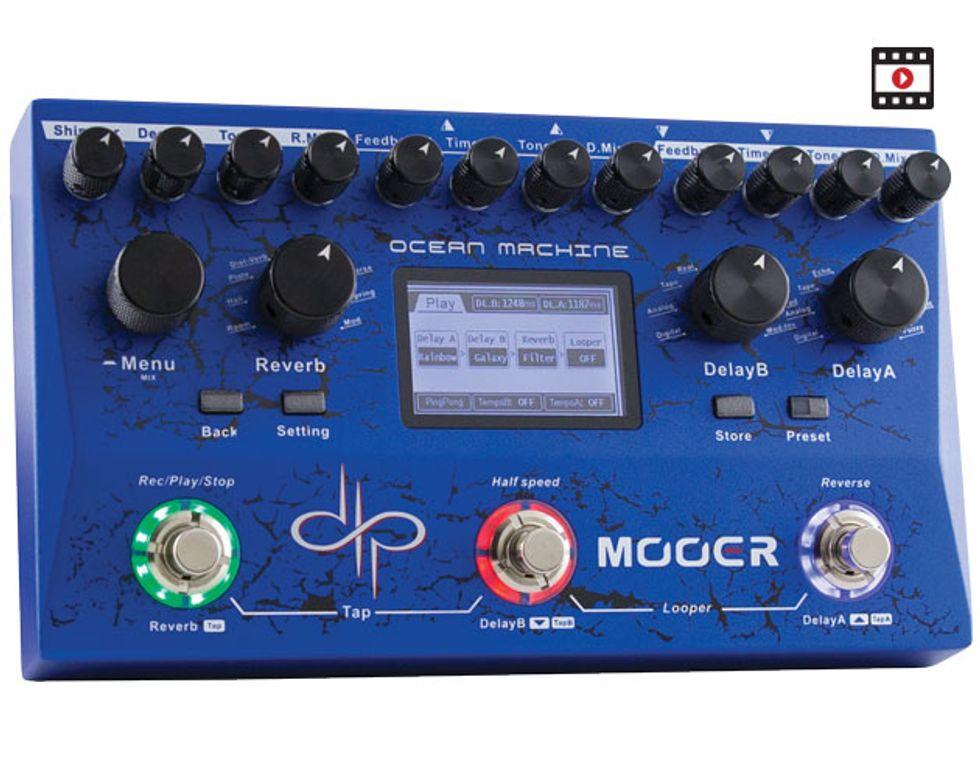 Mooer Ocean Machine Review | Premier Guitar
