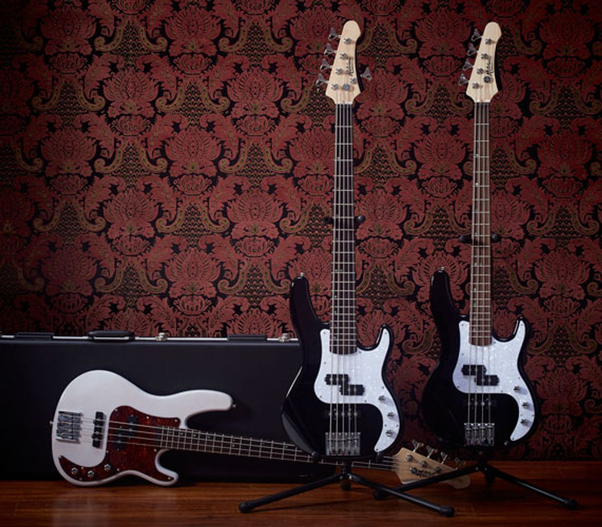 Mitchell Introduces the TB500 Electric Bass