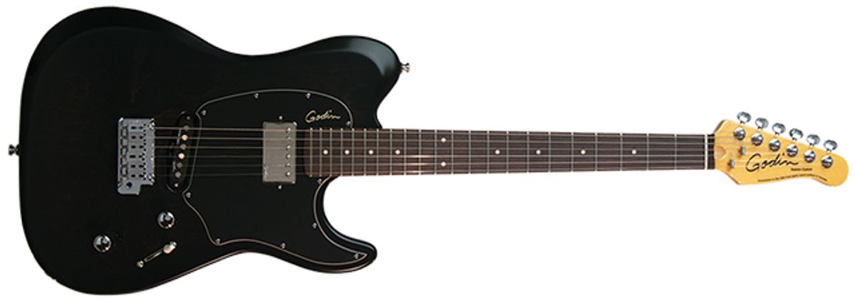 Godin Session Custom Electric Guitar Review
