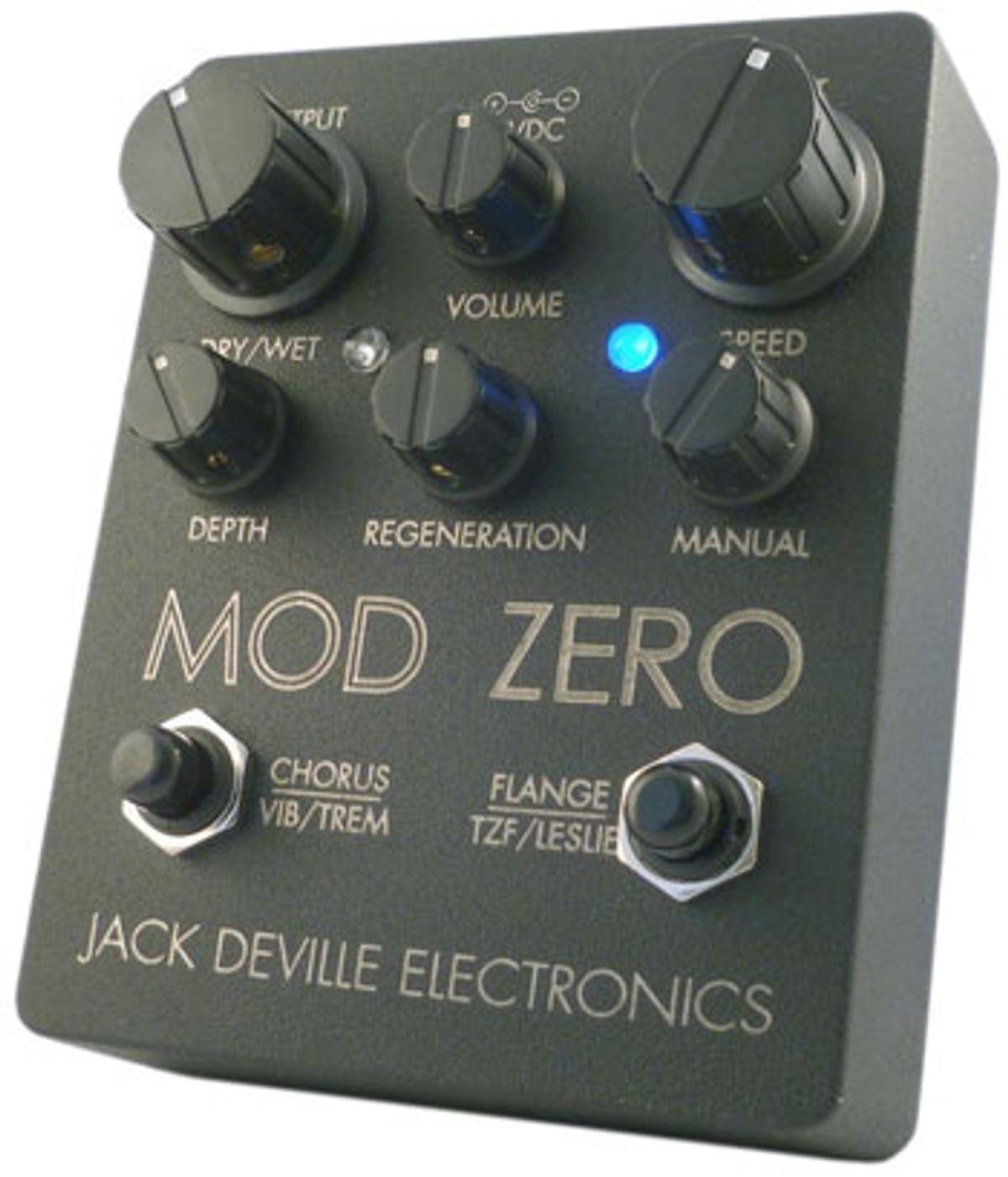 Jack DeVille Electronics Releases Mod Zero