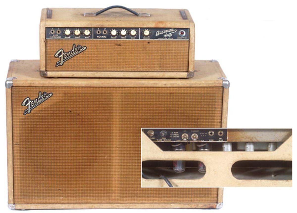 1964 Fender Bassman Head and Cabinet
