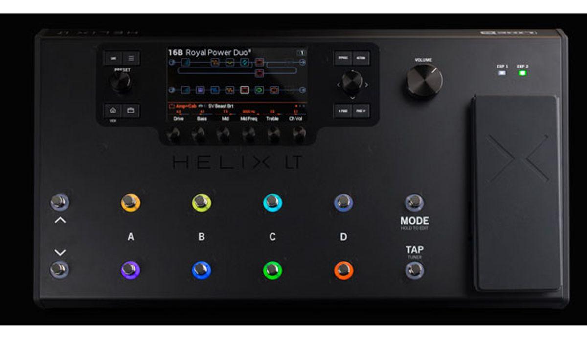 Line 6 Announces the Helix LT