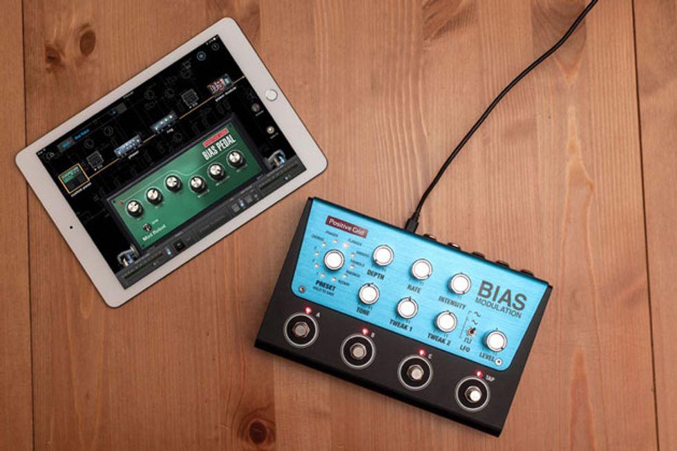 positive grid unveils bias modulation premier guitar. Black Bedroom Furniture Sets. Home Design Ideas