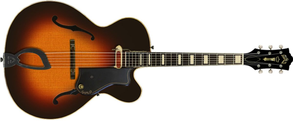 Guild Introduces Newark St. Collection Electric Guitars