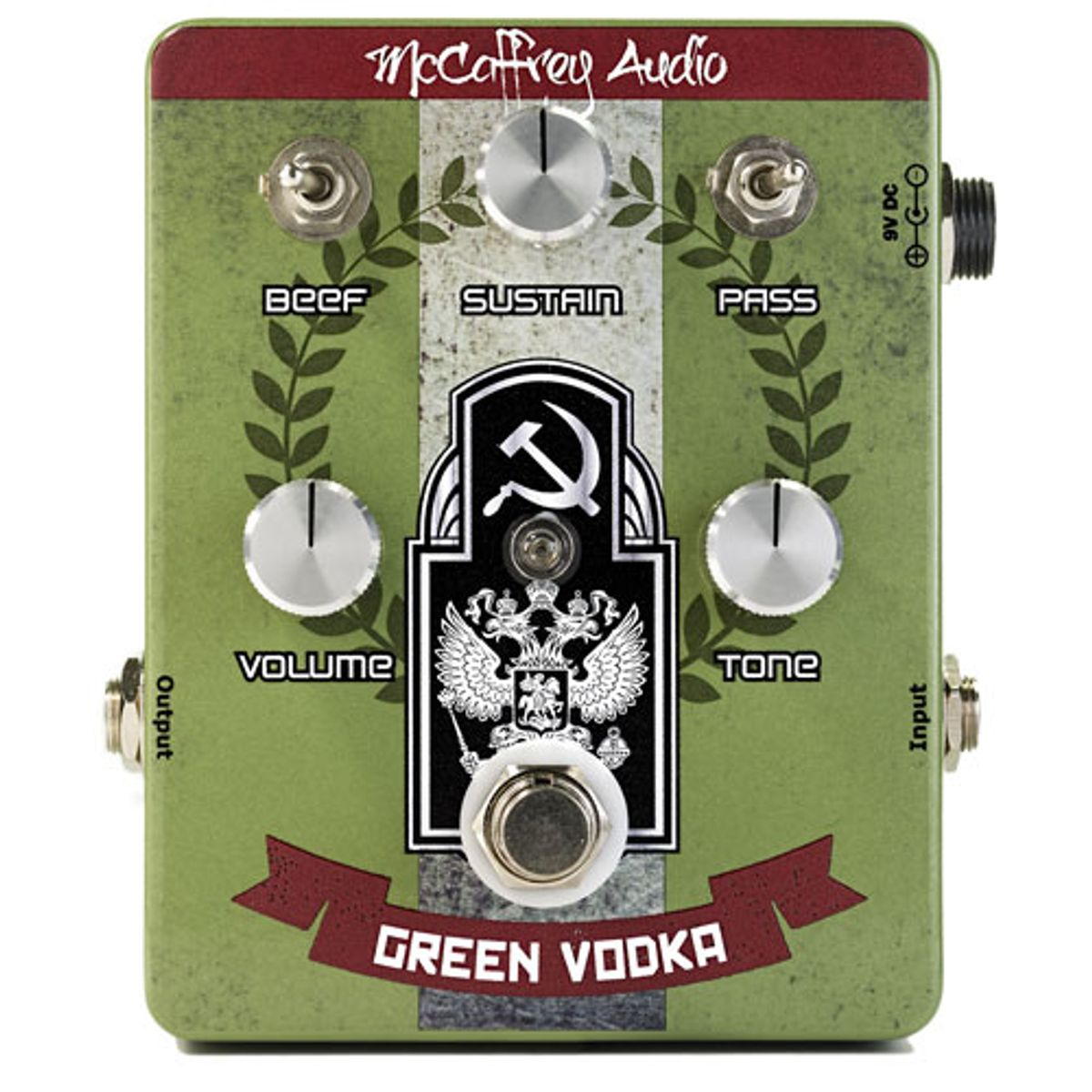 McCaffrey Audio Unveils the Green Vodka Muff