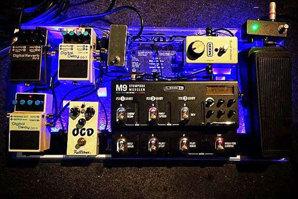 5bdbfec2d1b17 I almost always have my MXR Micro Amp pedal on as it makes a perfect  tone-bridge between my Tele and my Fender Hot Rod DeVille combo.