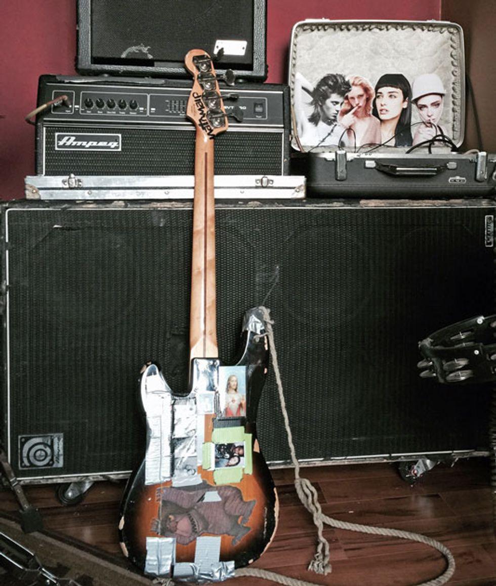 the gear behind sxsw premier guitar. Black Bedroom Furniture Sets. Home Design Ideas