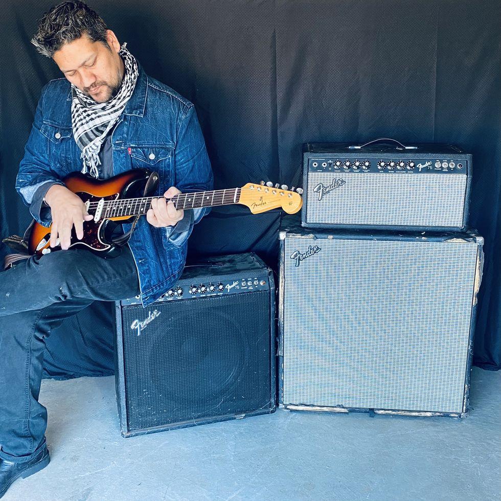 Mato Nanji Fender 75 homepage