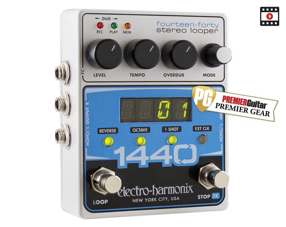 Electro Harmonix 1440 Looper st/ér/éo