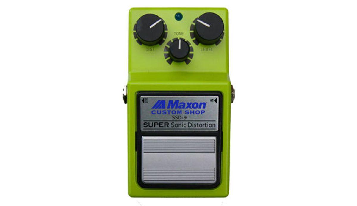 Maxon Custom Shop Releases the SSD-9 Super Sonic Distortion