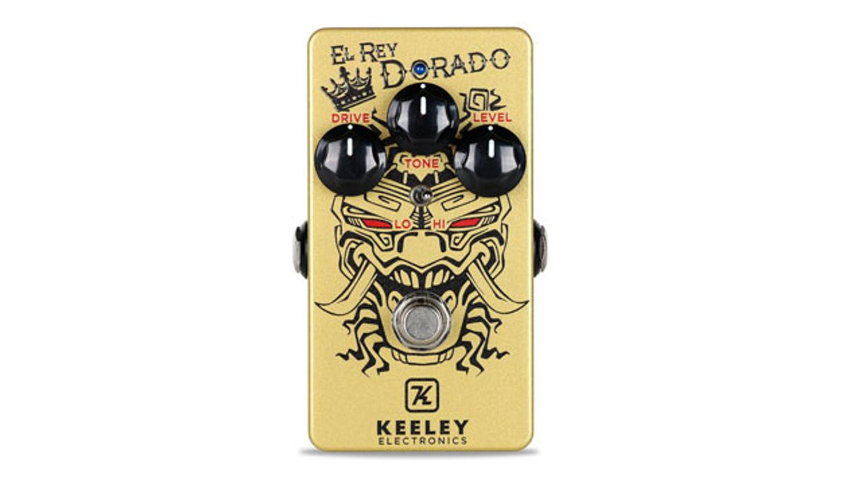 Keeley Electronics Unveils the El Rey Dorado Distortion