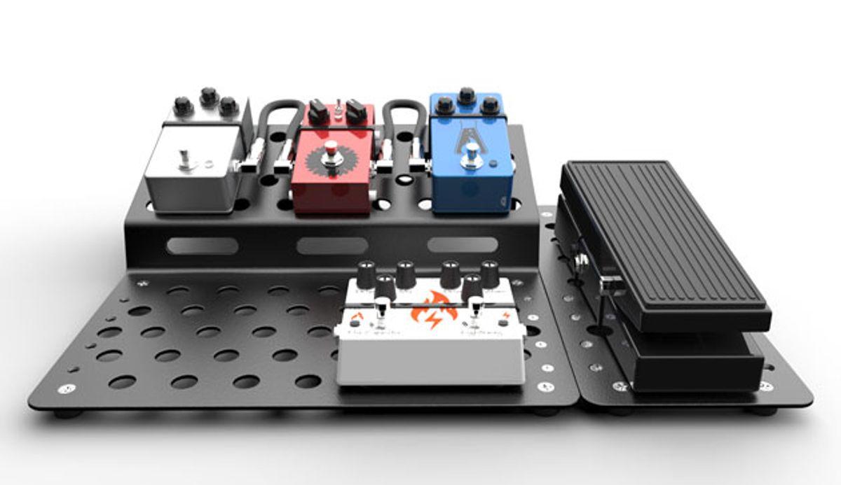Chemistry Design Werks Releases the Holeyboard ZigZag Modular Pedalboard