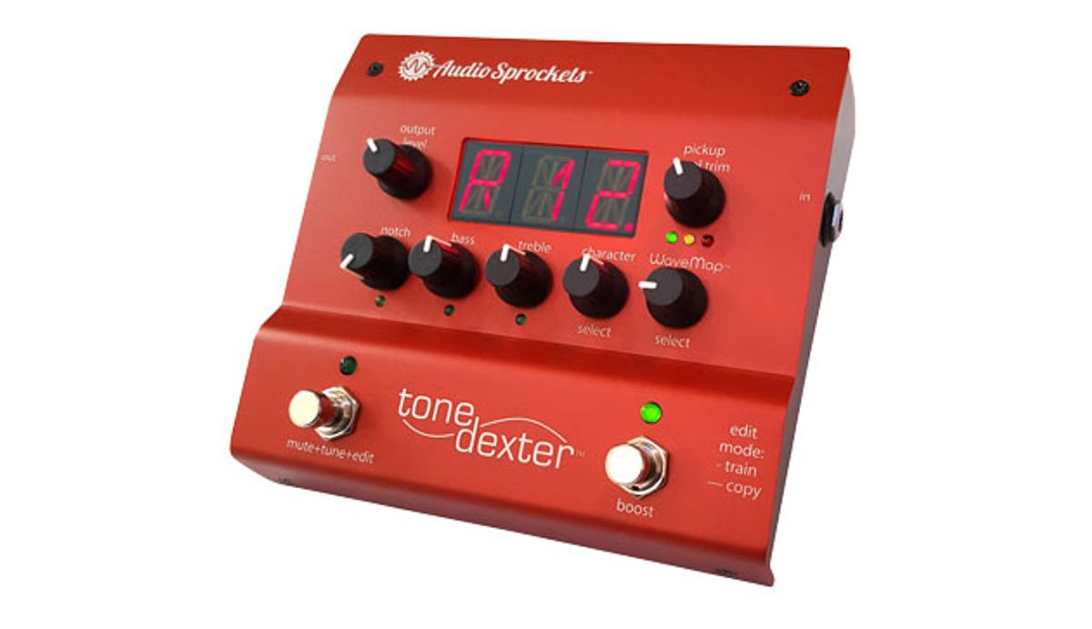 Audio Sprockets Introduces the ToneDexter