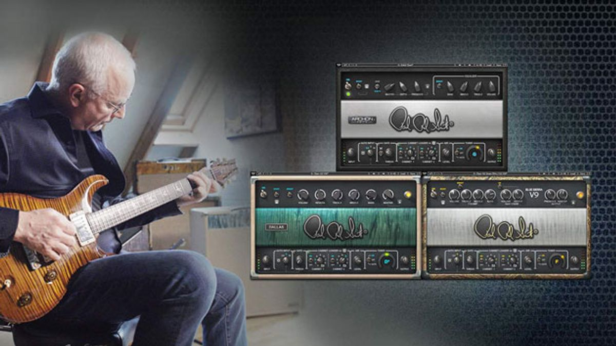 Waves Audio Unveils the PRS SuperModels Amp Simulation Plugin