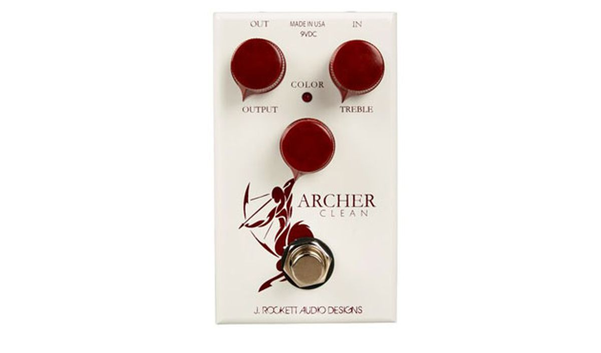 J. Rockett Audio Designs Releases Archer Clean/Color Boost