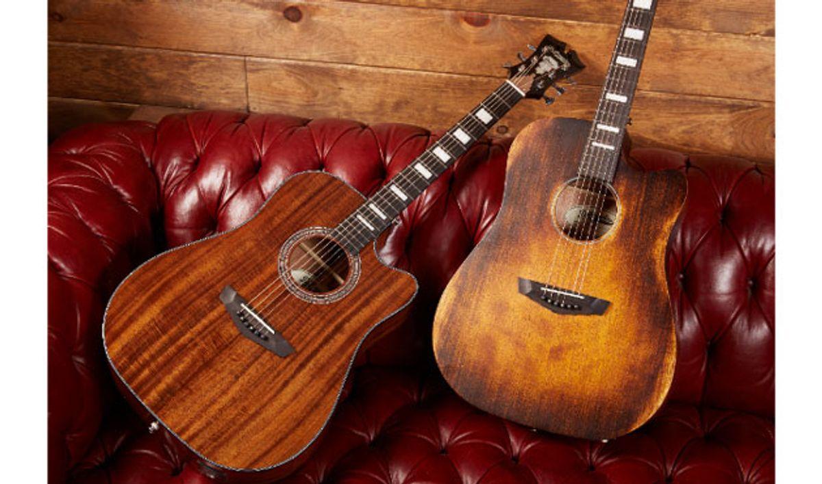 D'Angelico Guitars Introduces New Premier Series Acoustics