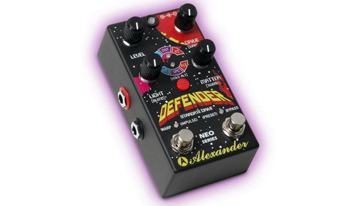Alexander Pedals Releases the Defender
