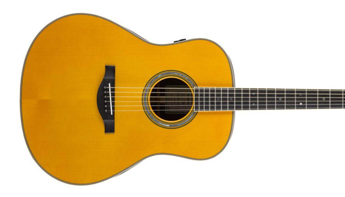 Yamaha Unveils the TransAcoustic Guitar