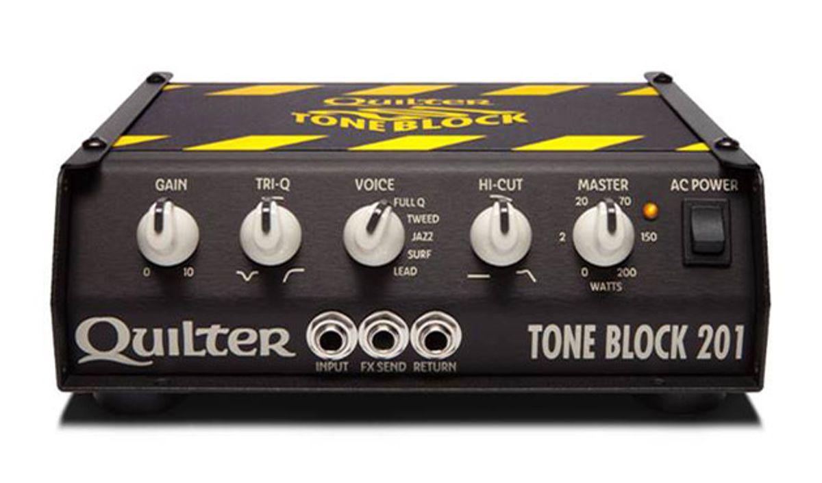 Quilter Announces the Tone Block 201