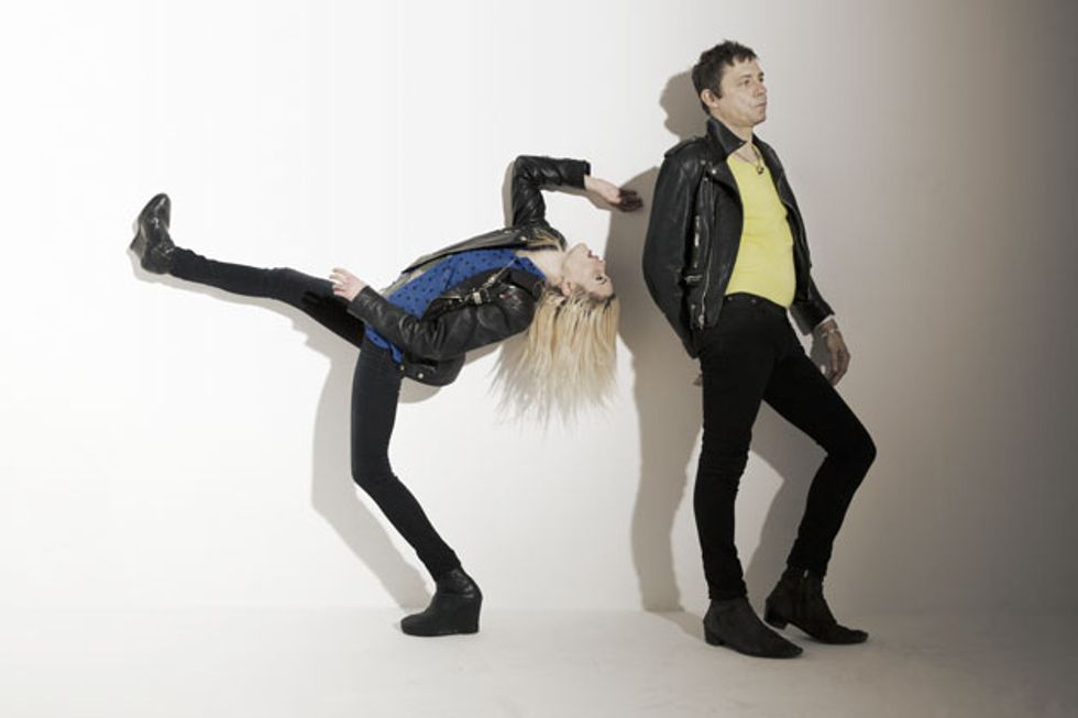 Jamie Hince and Alison Mosshart keep things interesting by writing from  different countries  him based in London and her in Nashville 78c66a3657a5